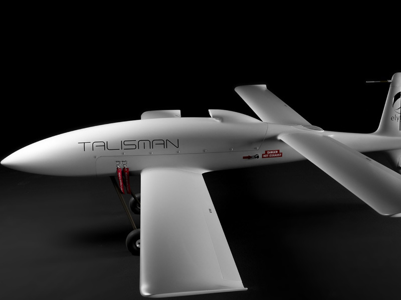 The Talisman UAV integrates 3D-printed parts. Credit: Elytron Aeronautica.