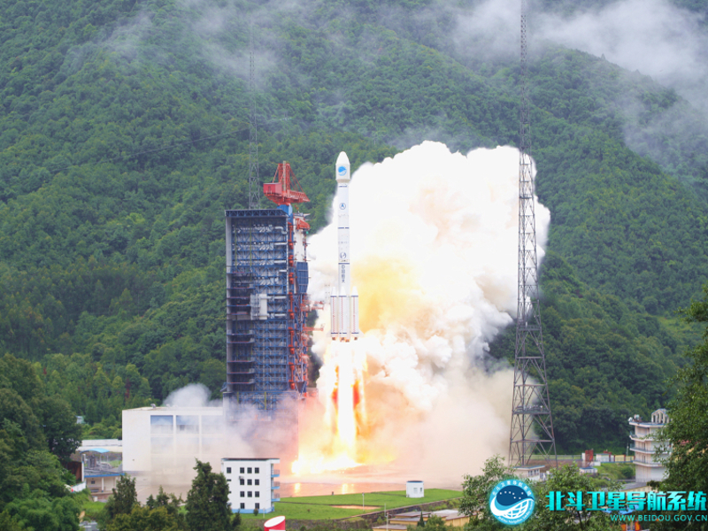 BDS-3 is part of the BeiDou navigation satellite system mission. Image courtesy of BeiDou Navigation Satellite System.