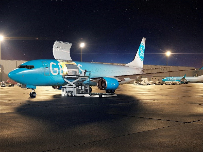 Boeing received a new order from GE Capital Aviation Services (GECAS) for ten 737-800BCF aircraft in June 2019. Credit: Boeing.