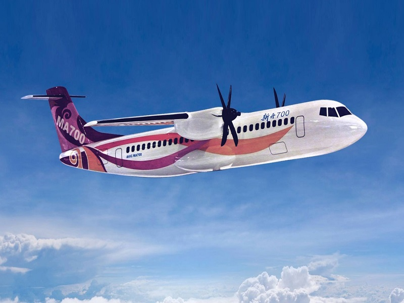 The maiden flight of MA700 aircraft is scheduled in 2020. Credit: AMETEK Inc