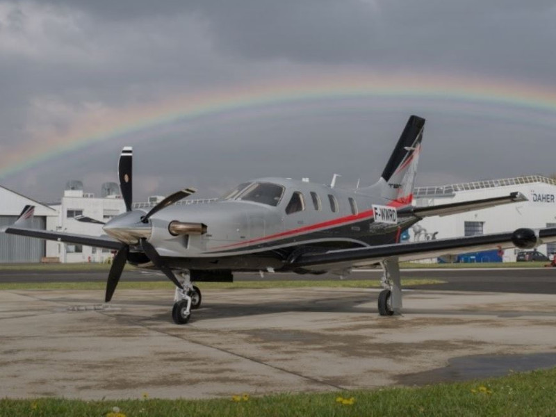 The EASA granted airworthiness certificate for the TBM 940 in May 2019. Credit: Daher.