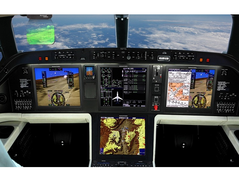 Praetor 500 is equipped with intuitive situational awareness technology. Credit: Collins Aerospace.
