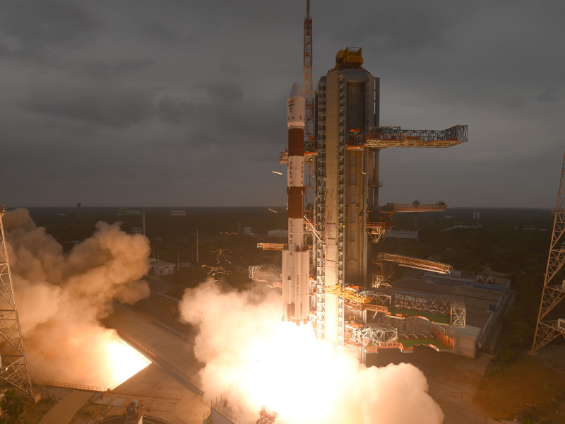 Cartosat-3 earth observation satellite has a lifespan of five years. Credit: ISRO.