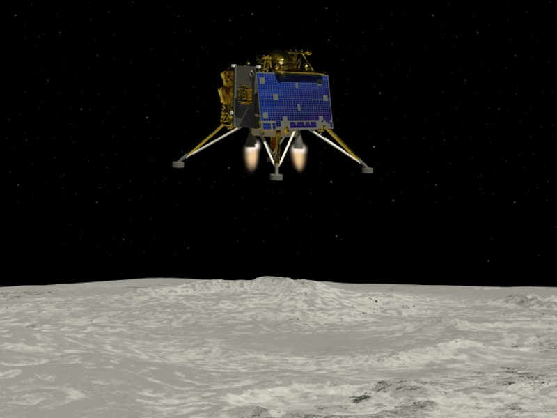 ISRO plans to launch Chandrayaan 3 between 2020 and 2021. Credit: Shutterstock / Raymond Cassel.