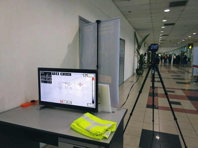 Thermal screening at airports