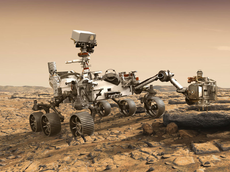 Mars 2020 rover is designed for the exploration of the red planet. Credit: NASA / JPL-Caltech.