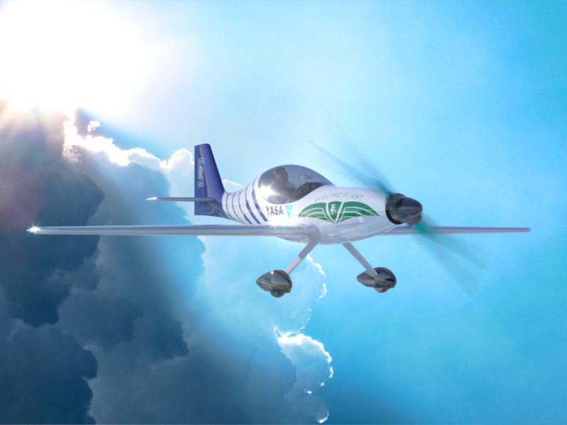 Rolls-Royce all-electric single-seat aircraft was launched in December 2019. Credit: Zuken.