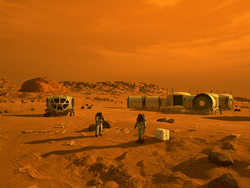 Mars 2020 rover will contribute to the human exploration of Mars in future. Credit: NASA.
