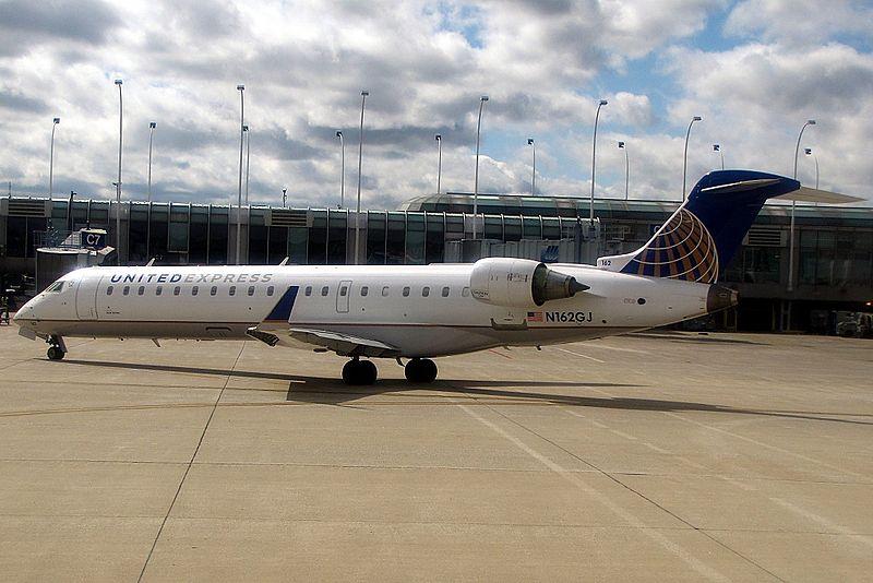 CRJ-550 Aircraft