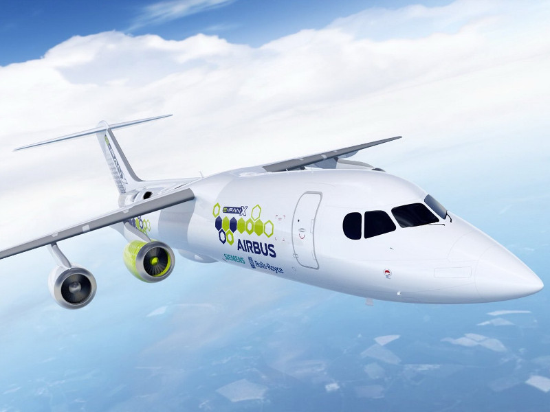E-Fan X Hybrid Electric Aircraft