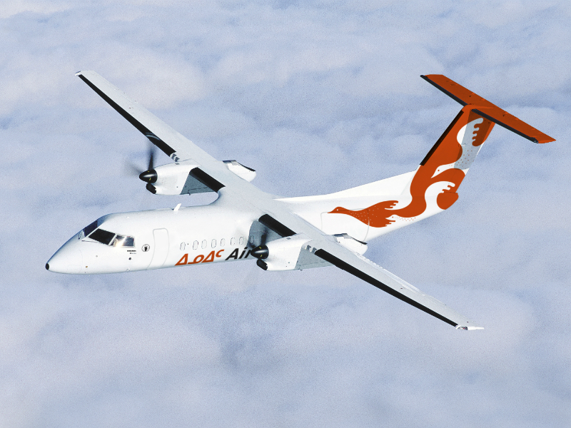 Air Inuit was the launch customer of the Q300 LCD Freighter. Credit: Bombardier Inc.
