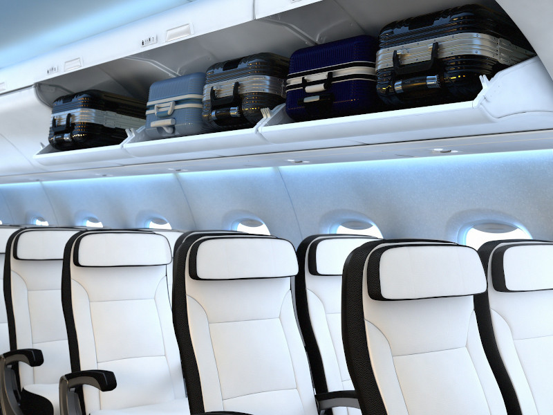 The aircraft is designed to have increased bin capacity. Credit: Mitsubishi Aircraft Corporation.