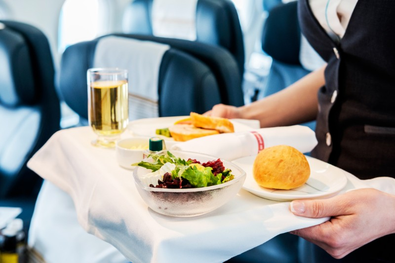 Air travel food