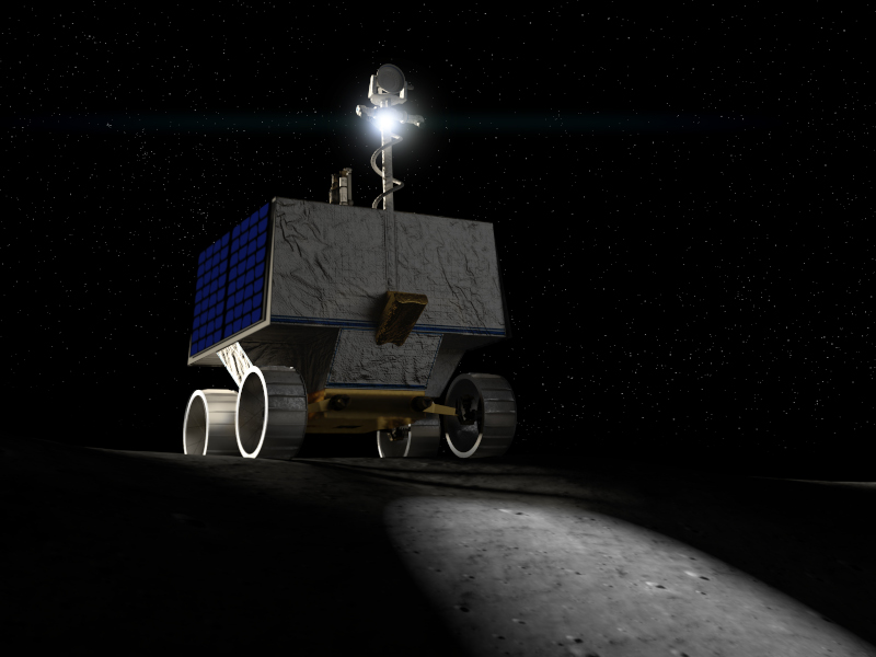 The robotic rover will be launched in 2023. Credit: Nasa Ames / Daniel Rutter.