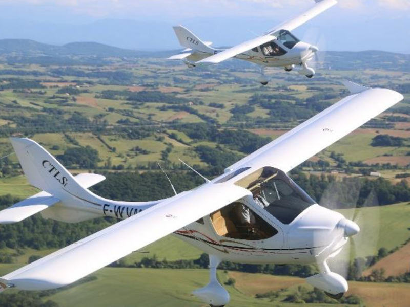 CLTS) is a light sport aircraft manufactured by Flight Design. Credit: Flight Design general aviation GmbH.