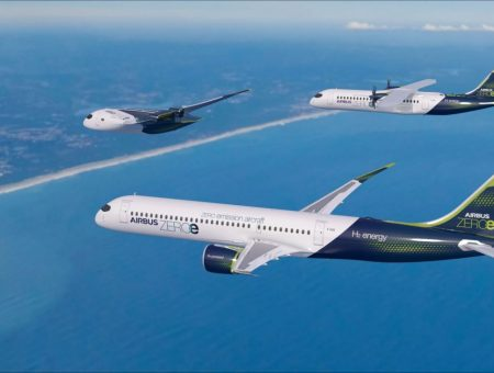 ZEROe concept aircraft