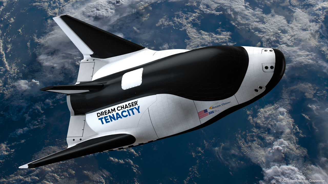 Dream Chaser spaceplane, also known as America's Spaceplane, is the world's only non-capsule, private orbital spacecraft. Credit: Sierra Nevada Corporation.