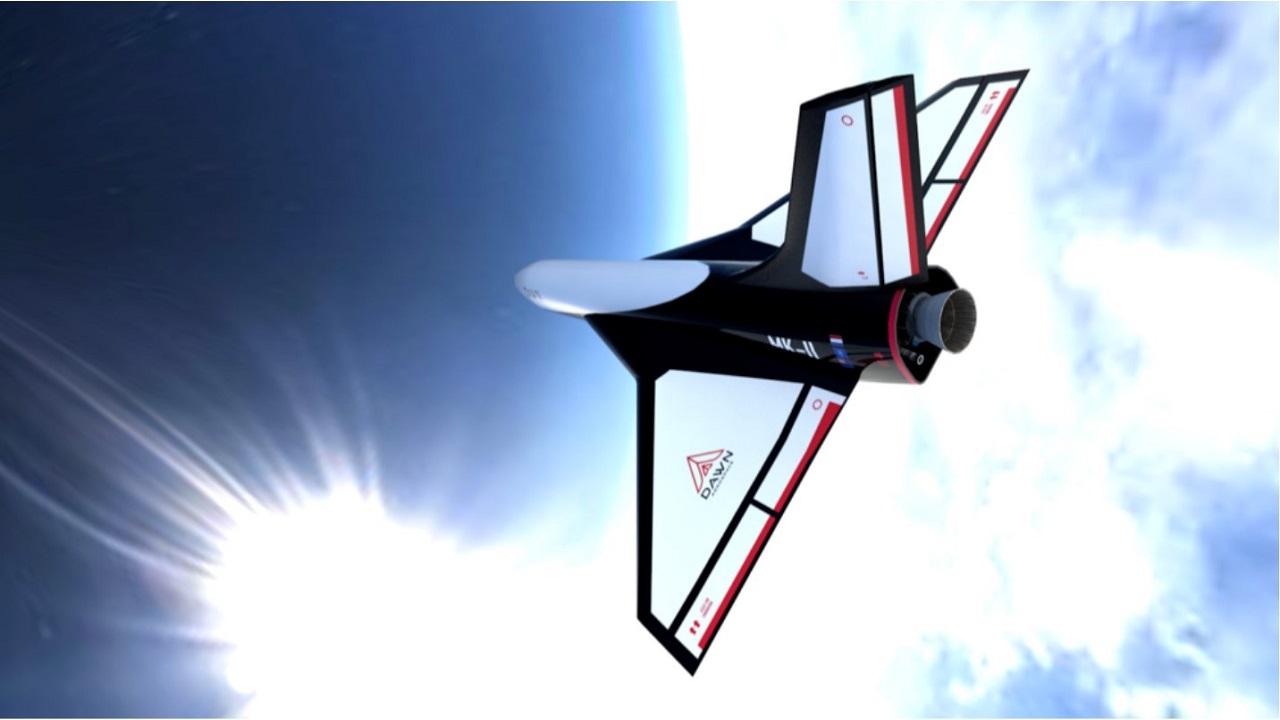 Dawn Mk-II Aurora Spaceplane