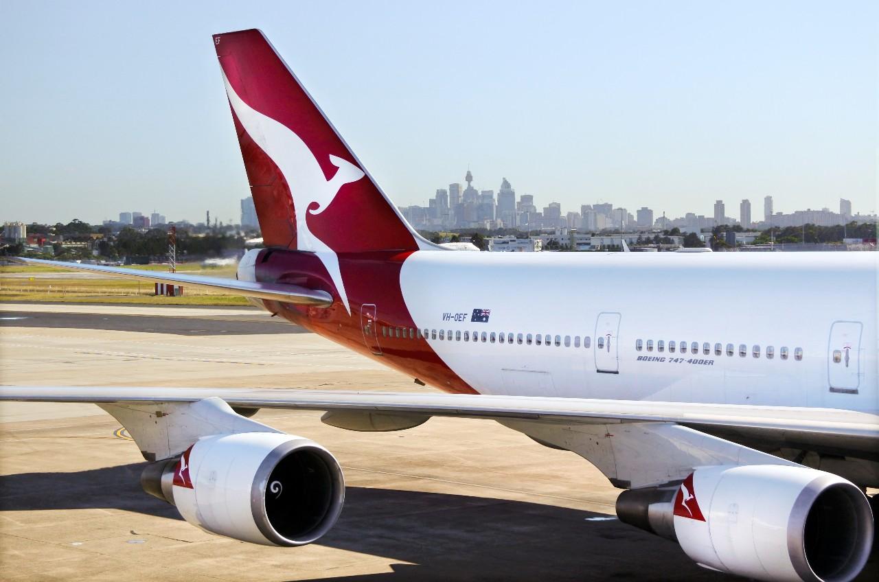 Qantas Airways clothing line
