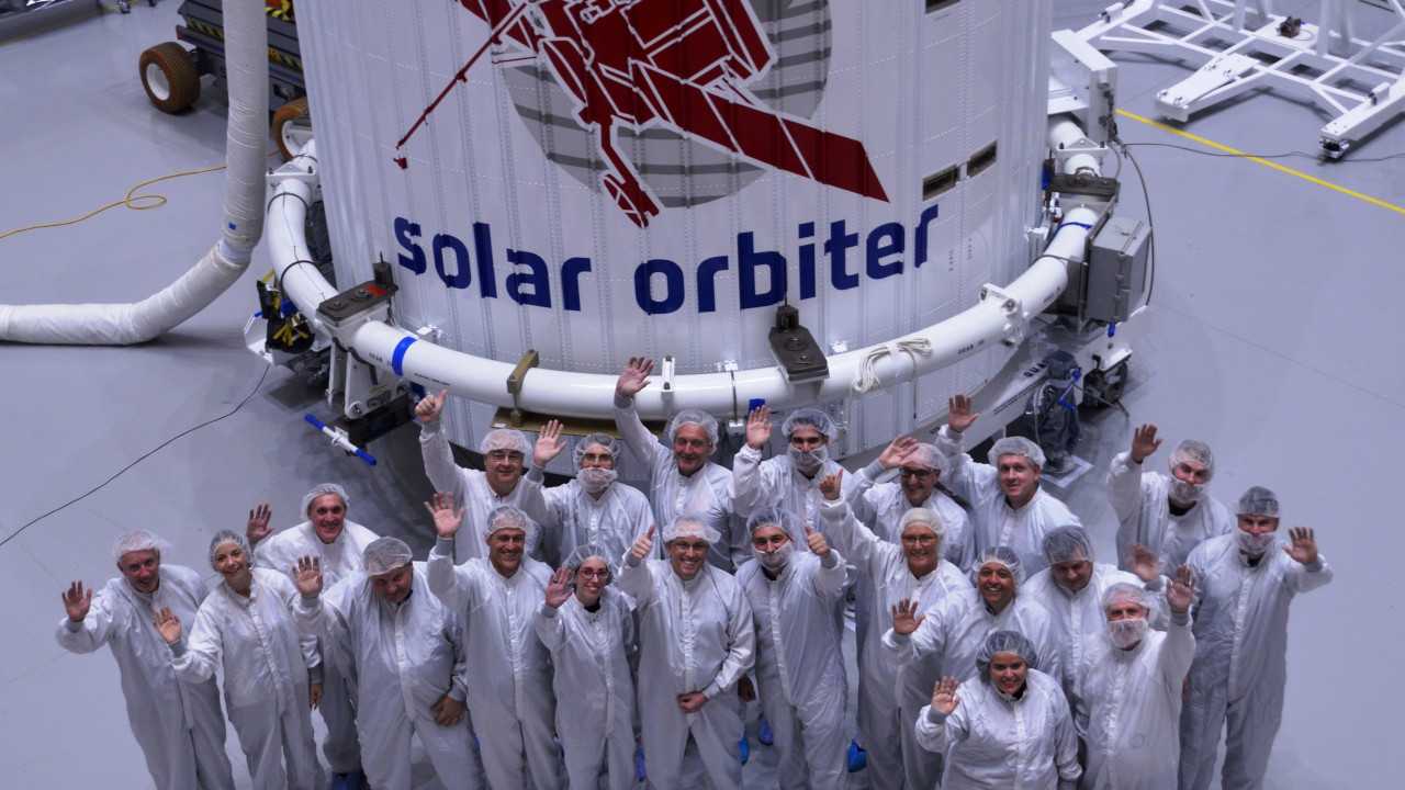 The Solar Orbiter spacecraft has a payload capacity of 209kg. Credit: Airbus SAS.