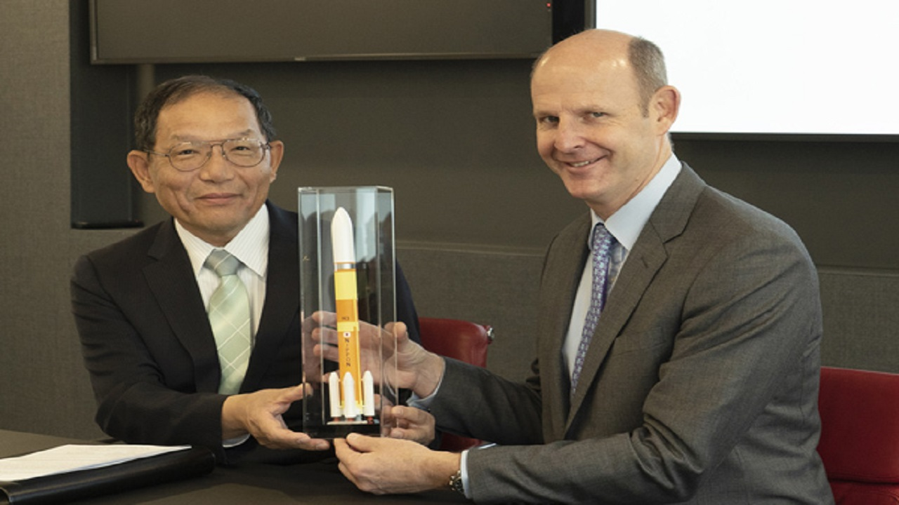 Inmarsat will be the first commercial customer for the H3 launch vehicle. Credit: Mitsubishi Heavy Industries, Ltd.