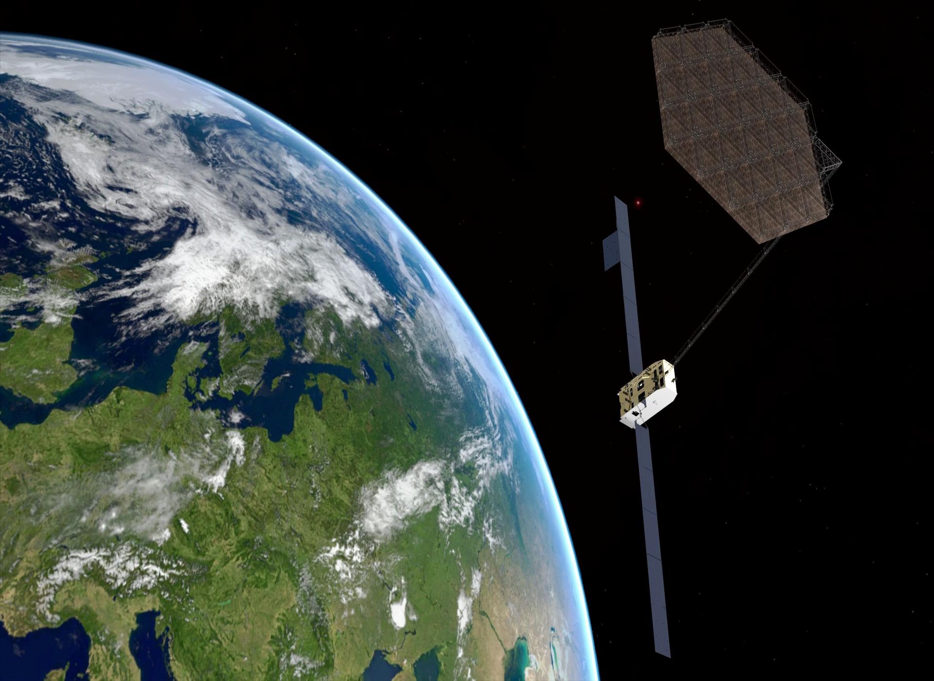 Airbus  - Airbus 7 - EC selects Airbus to explore spacecraft manufacturing in space