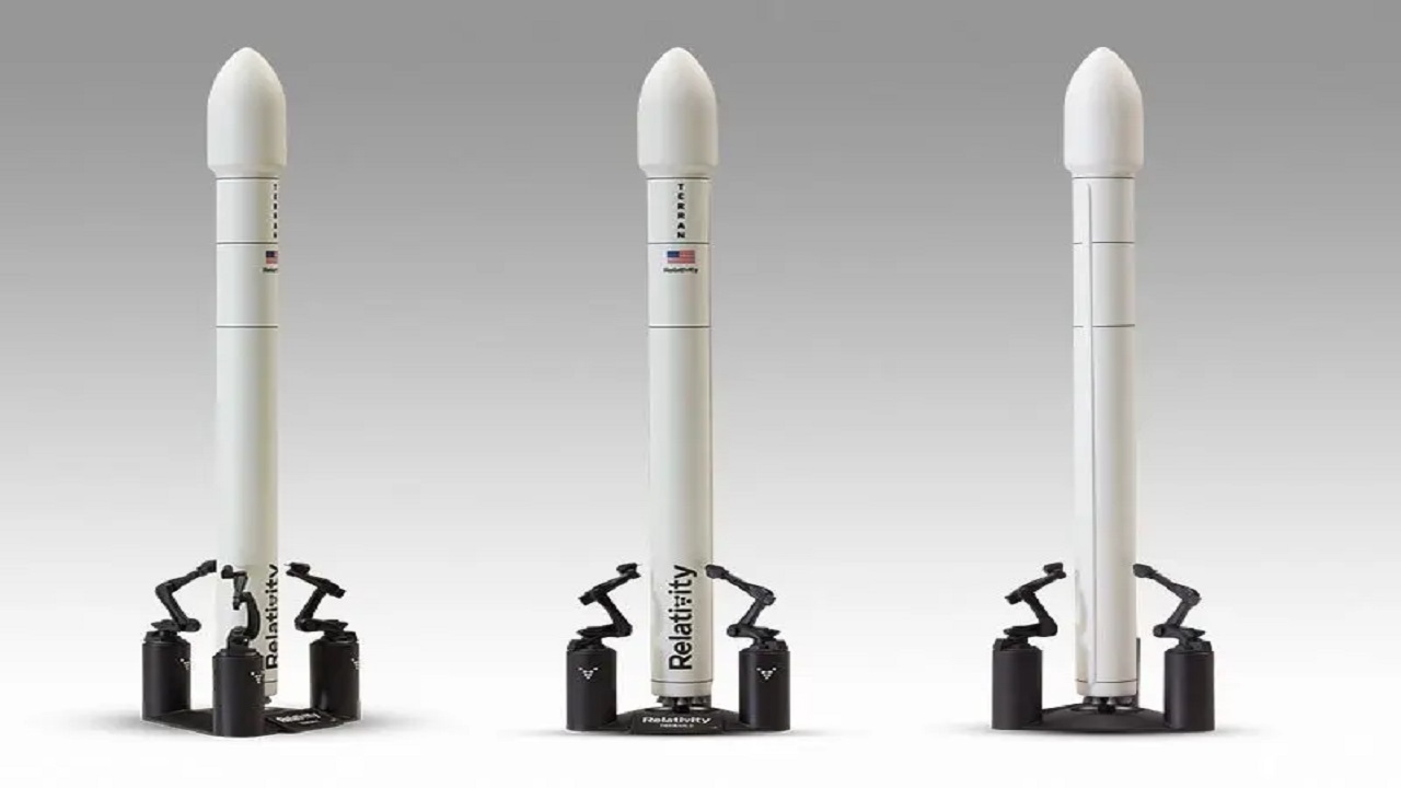 Terran 1 is the world's first 3D printed space launch vehicle. Credit: Pacmin.