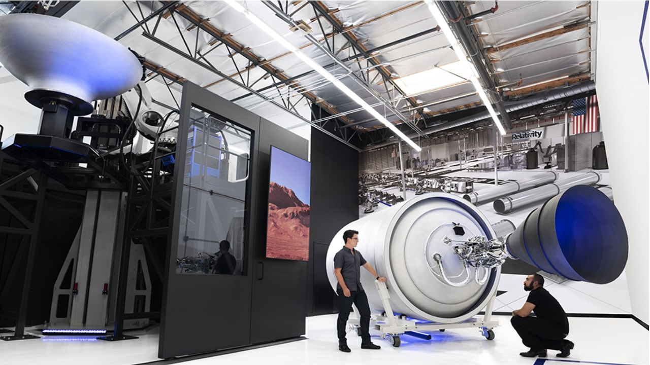 The Stargate factory houses the world's largest metal 3D printers. Credit: Clean TeQ.