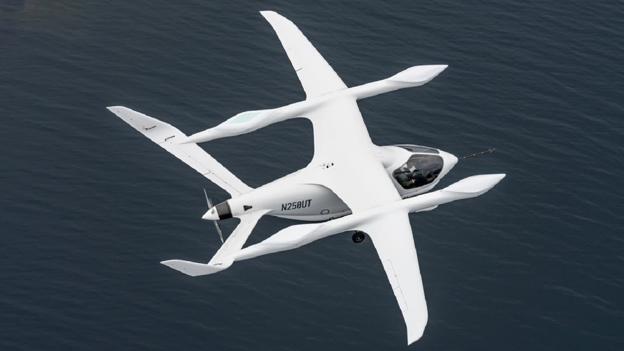 Alia-250 has a wingspan of 50ft and range of up to 463km. Credit: BETA Technologies.