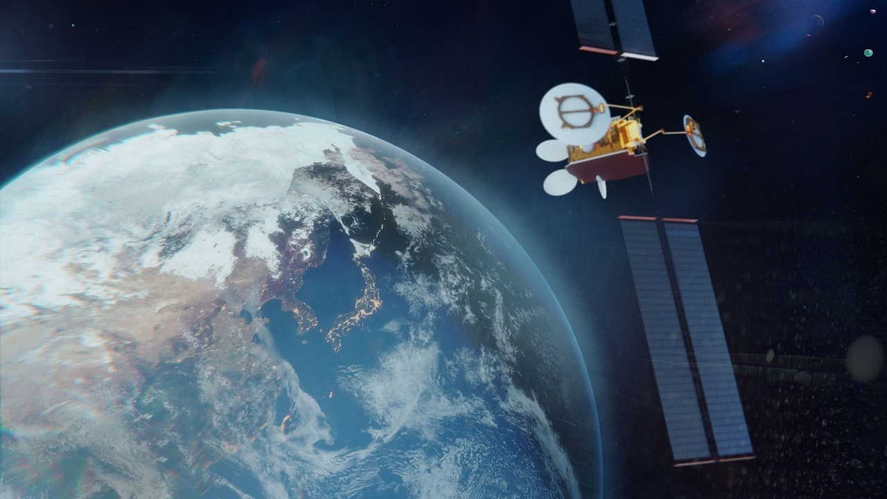 The new in-orbit reconfigurable satellite is expected to replace Superbird-C2. Credit: Airbus.