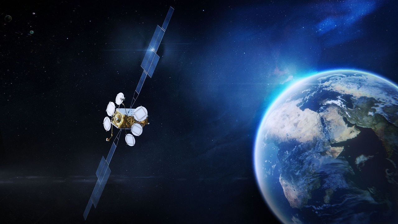 Airbus manufactures OneSat through a modular method for quick delivery compared to other satellites. Credit: Airbus.