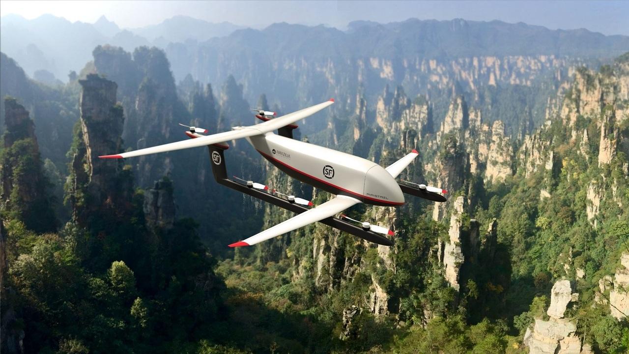 Pipistrel will develop the Heavy Cargo Hybrid VTOL UAV for Chinese logistics company SF Express. Credit: Pipistrel.