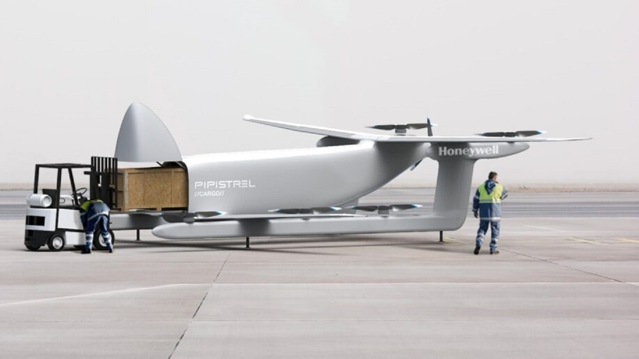 The UAV's design will be based on Pipistrel's Nuuva V300, which was showcased in 2020. Credit: Pipistrel.