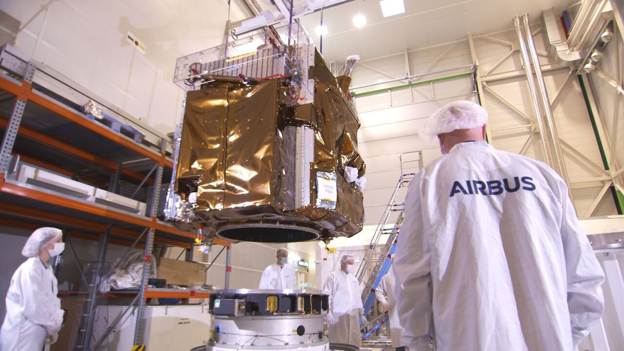 The Pléiades Neo 3 satellite system can be used by both military and civilian organisations for surveillance and mapping. Credit: Airbus.
