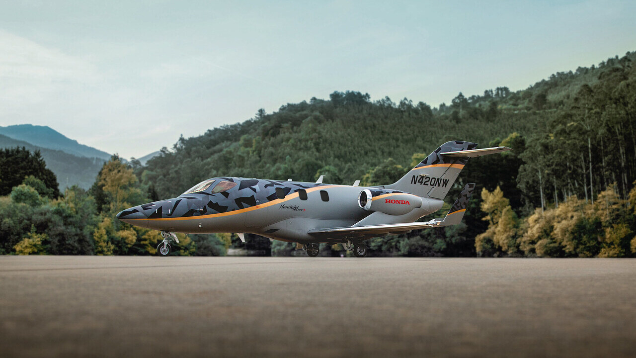 The new Elite S variant has a range of approximately 2,661km. Credit: Honda Aircraft Company.