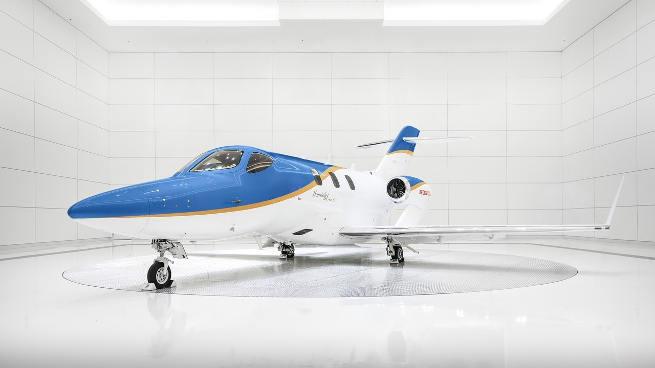 The Elite S has a combined stowage of 66ft³ to accommodate baggage. Credit: Honda Aircraft Company.