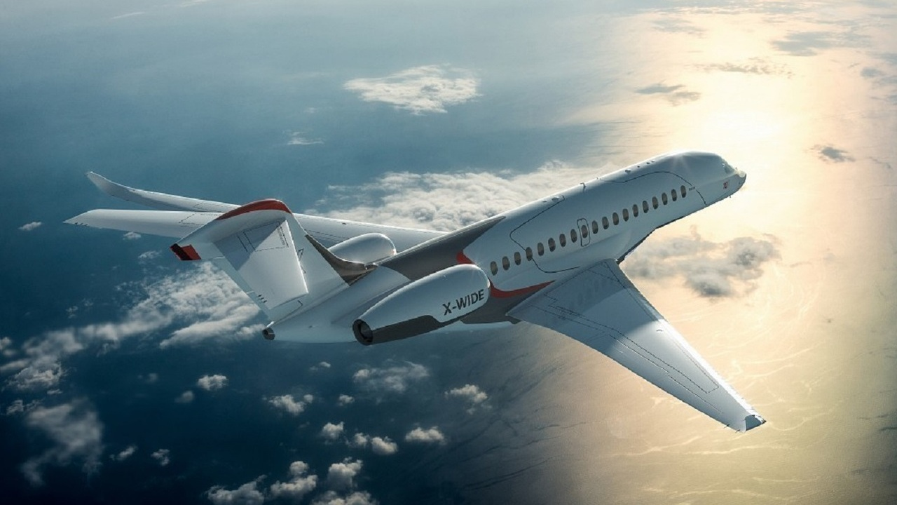 The business jet will be able to fly at a maximum speed of 1,142.2km/h. Credit: Dassault Aviation.