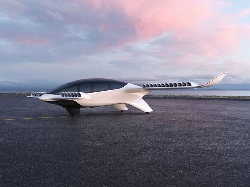The seven-seater Lilium Jet will have a range of over 250km with a cruise speed of 280km/h. Credit: Lilium.