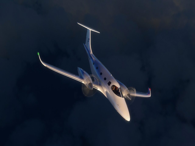 eFlyer 800 can reach an altitude of 35,000ft with a maximum payload of 1540lb. Credit: Bye Aerospace.