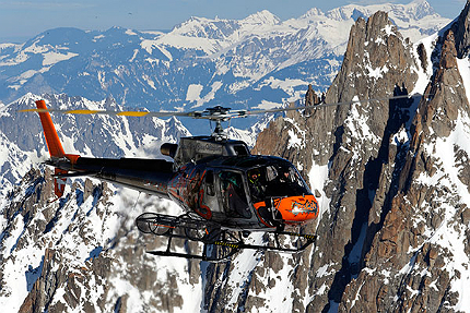 AS350 B3e is a high performance light helicopter