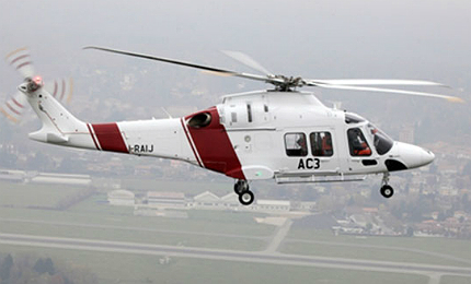 The AW169 incorporates an eco-friendly design