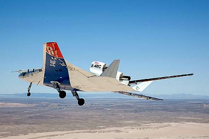 X-48 aircraft