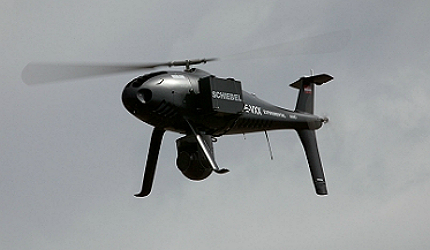 Schiebel's Camcopter S-100 unmanned aerial system