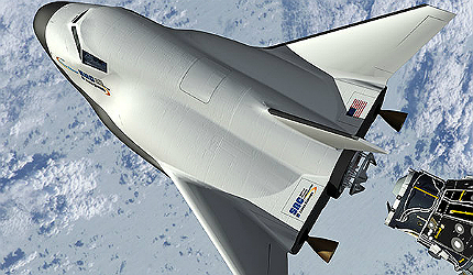 Dreams Chaser vertical-takeoff horizontal landing (VTHL) space vehicle