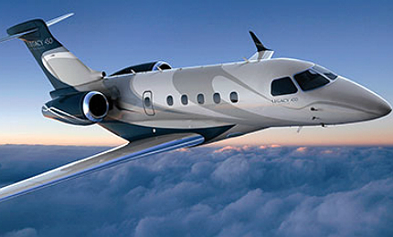 Legacy 450 jet