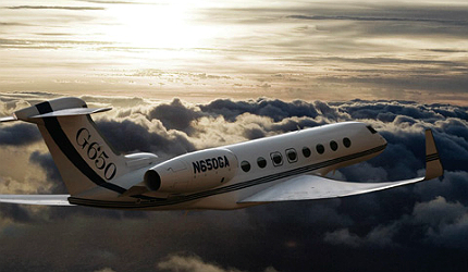 G650 is powered by two Rolls-Royce Deutschland BR725A1-12 turbofan engines