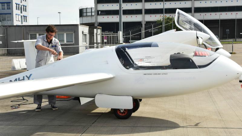 HY4 aircraft