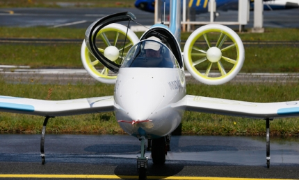 E-Fan Electric Aircraft