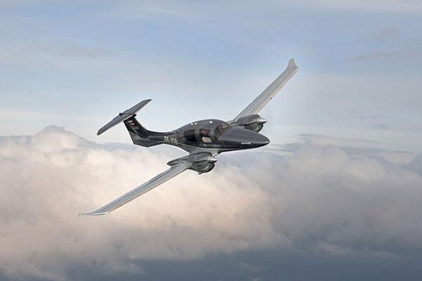 DA62 new twin-engine light aircraft