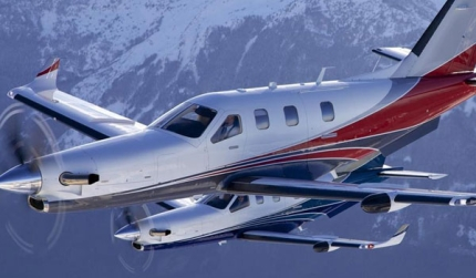 TBM 900 business jet
